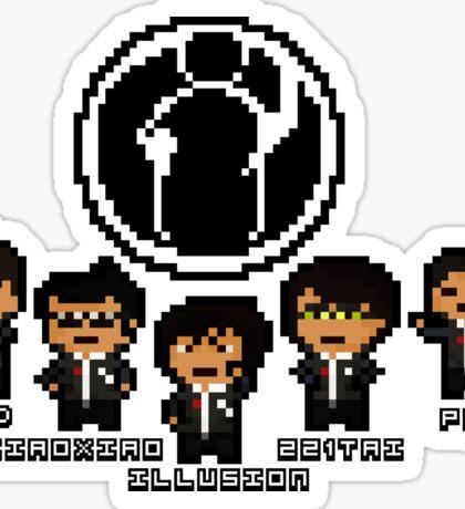 Pixel Invictus Gaming Sticker
