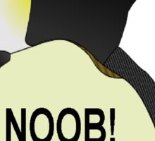 NOOB! I am a Linux snob Sticker