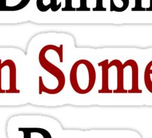I Am More Danish Than Someone Born In Denmark Sticker