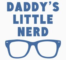 Daddy's Little Nerd Kids Tee