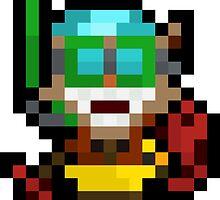 Pool Party Pixel Ziggs by Pixel-League