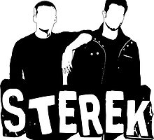 Sterek Sticker by xoxoJM