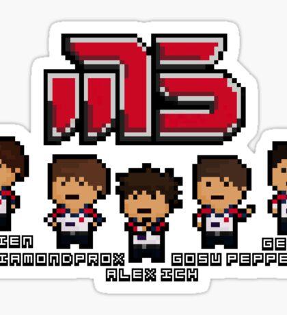 Moscow Pixel 5 Sticker