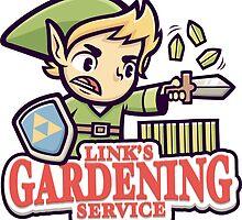 Link's gardening service by cronobreaker