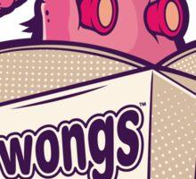 Wong's Takeaway Sticker