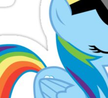Deal With It -Dash  Sticker