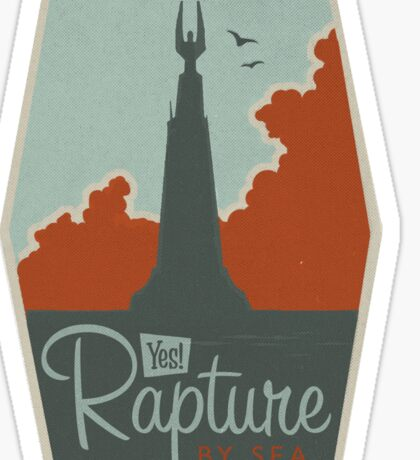 RAPTURE - Gaming Luggage Labels Series Sticker