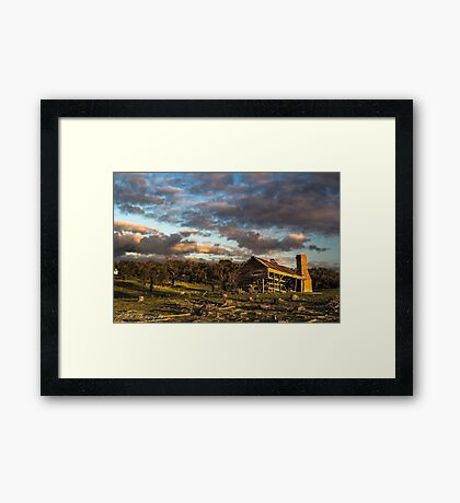 Rural Decay Framed Print