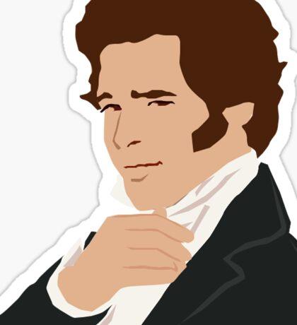 Mr. Darcy Sticker