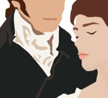 Mr. Darcy and Elizabeth Sticker