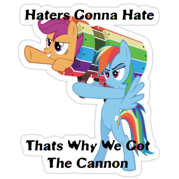 Party Cannon For The Haters  by eeveemastermind