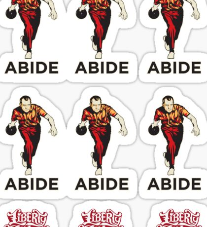 Nixon Abide Sticker Set Sticker
