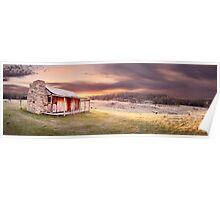 David Brayshaws Hut, Namadgi National Park, ACT, Australia Poster
