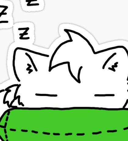 Sleepy Kitty! Sticker