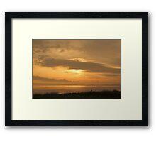 5:30am Humber Bridge Framed Print