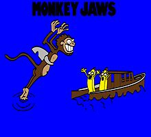 Monkey Jaws (Sticker Only) by whitmore55