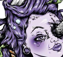 Severed Anchor Head (Purple) Sticker