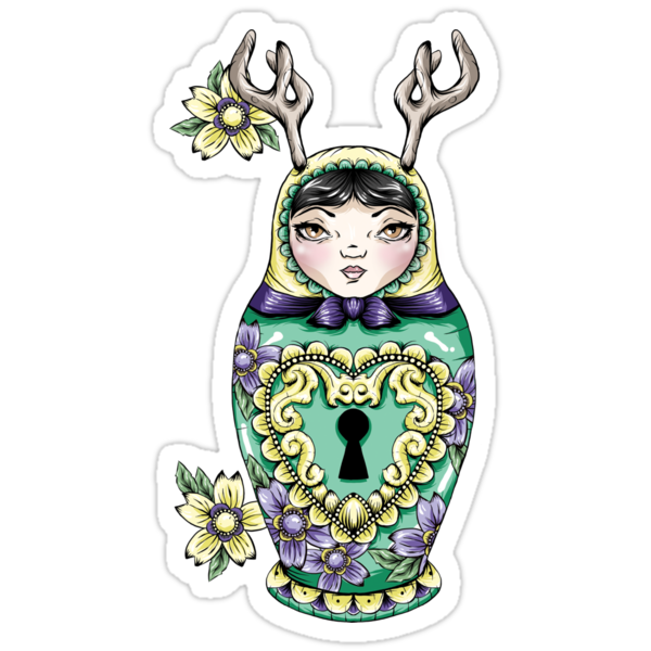 Lock Pick Russian Doll by Creep Heart