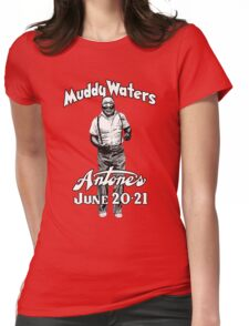Muddy Waters Antone's Womens Fitted T-Shirt