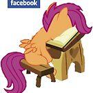 Facebook Scootaloo by eeveemastermind