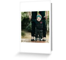 Levi and Me Greeting Card