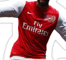 Thierry Henry Guess Who's Back Sticker