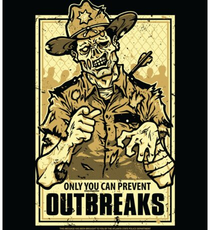 Outbreak Prevention - STICKER Sticker