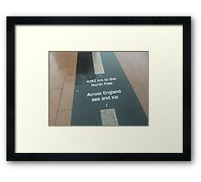 4282km to the North Pole (Nokia Collection) Framed Print