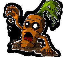 Zombie Carrot by Stephen Hartman