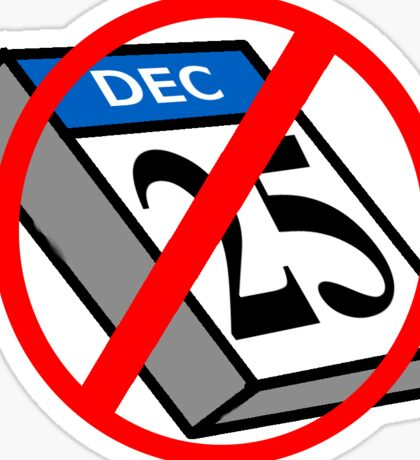 Cancel Christmas  Sticker