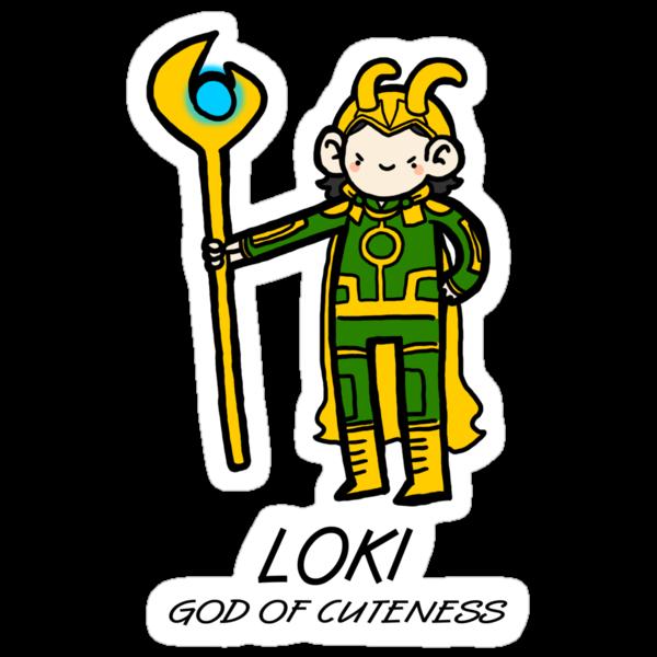 God of Cuteness by geothebio