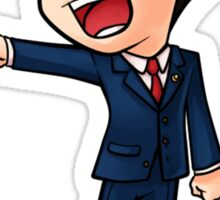 Ace Attorney Phoenix Wright Sticker