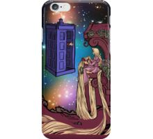 Tangled Tardis In Galaxy iPhone Case/Skin