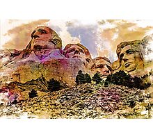RUSHMORE Photographic Print