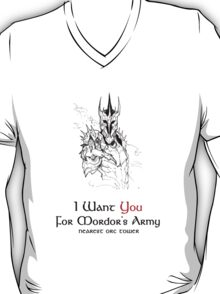 I Want you For Mordor's Army T-Shirt
