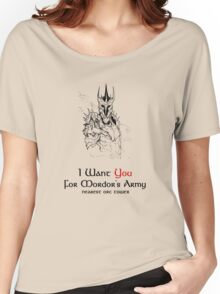 I Want you For Mordor's Army Women's Relaxed Fit T-Shirt