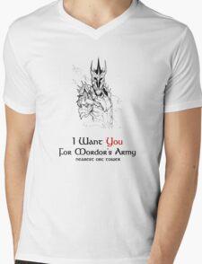 I Want you For Mordor's Army Mens V-Neck T-Shirt
