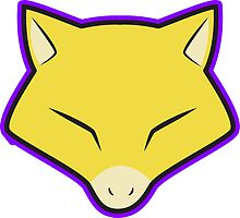 ABRA Pokemon Minimal Design First Generation Sticker Shirt by Jorden Tually