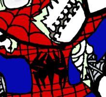 Zombie Spiderman Sticker