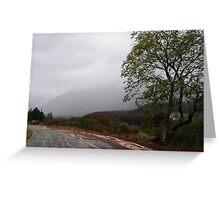 Mountain shawl Greeting Card