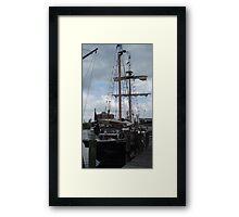 Replica Ship Framed Print
