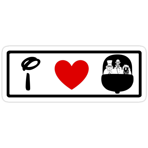 I Heart Haunted Mansion (Classic Logo) by ShopGirl91706