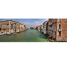 Venice seen from Academia Photographic Print