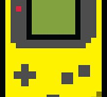 8 bit Gameboy Classic Yellow by PlatinumBastard