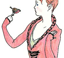 robin and boy by arrowflies