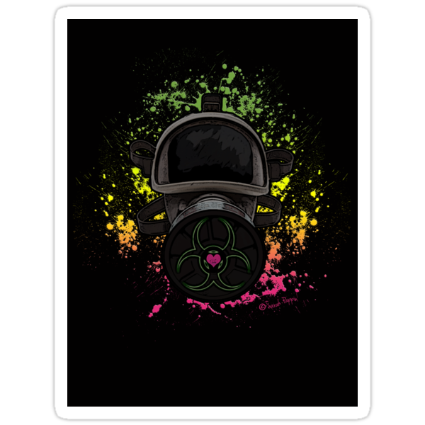 Toxic Love Sticker by DILLIGAF