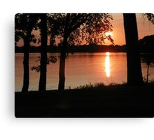 Mothers Day Sunset Canvas Print