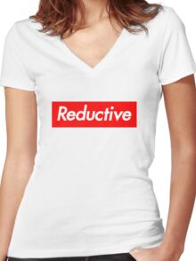 Reductive Women's Fitted V-Neck T-Shirt