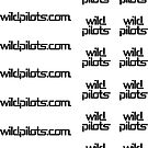 Wild Pilots Stickers!  Lots of tiny ones! by spackletoe