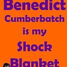 Benedict Cumberbatch is my Shock Blanket by froofiemole